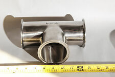 "3"" Stainless Steel Tee Pipe Fitting Tri-Clamp Connections    304"