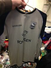 IPSWICH TOWN shirts 1898/9  AWAY  med boys  at £12 in original packet gr