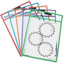 Learning Resources Write-and-wipe Pockets - White - Frame - Film - Portable - 5