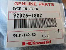 Kawasaki tappet shim 92025-1882 2.60