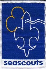 Boy Scout Badge SEA SCOUTS Belgium 2005 Issue