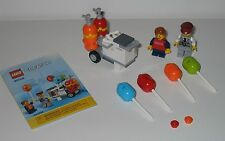 40108 LEGO Balloon Cart – 100% Complete w Instructions EX COND 2014