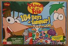 Phineas and Ferb 104 Days of Summer Board Game Used Complete