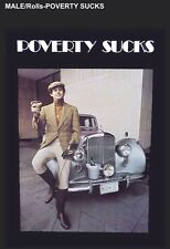 """Poverty Sucks- Male""""The Famous Poster"""" Limited Offer Car Poster Own It!!"""
