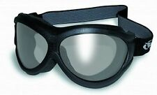 Flexible Anti-Fog Motorcycle Goggles-Fit Over RX Prescription Glasses-Smoked