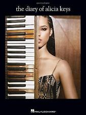 The Diary of Alicia Keys Songbook Sheet Music Song Book
