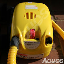 12V Electric Air Pump For Avon Achilles Mercury Zodiac & Inflatable Boats AQUOS