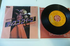 SYLVIE VARTAN 45T DISCO QUEEN/ SIDERE SIDERAL. JAPAN JAPON RCA SS- 3148.