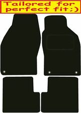 Tailored Deluxe Quality Car Mats Saab 9-3 Convertible 1998-2003 ** Black ** Conv