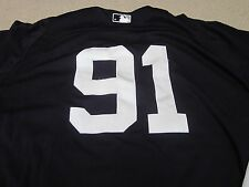 #91 ADONIS GARCIA NY Yankees Game Used 2013 Spring Training Jersey Steiner