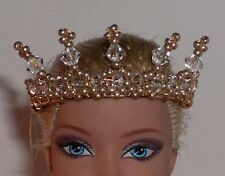 OOAK Art Doll/Barbie Crown/Tiara  -  U Pick Color
