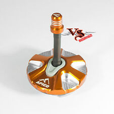 Apico Anodised Fuel Cap inc Vent Pipe HUSABERG TE250 FE450 FE500 09-14 ORANGE