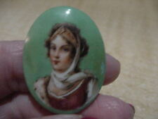 Victorian Hand Painted or Super Early Transfer Cameo