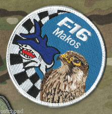 FIGHTING FALCON F-16 JET FIGHTER SWIRL vel©®�� INSIGNIA SERIES: 93d FS MAKOS