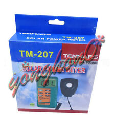 TENMARS TM-207 Solar Power Meter With 1.5M Remove Sensor Radiation Energy Tester
