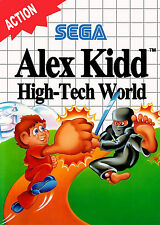 Alex Kidd High-Tech World SEGA Master System Framed Print (Man Cave Picture Game