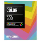 1 Pack Impossible Color Frame Instant Color Film for Polaroid 600 Camera PRD2959