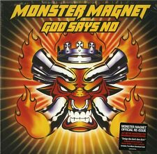 MONSTER MAGNET GOD SAYS NO DOPPIO VINILE LP 180 GRAMMI NUOVO !!