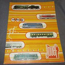 429D Catalogue Jouef 1974 Ho Slot 60 Pages