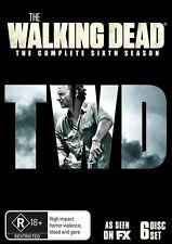 Walking Dead : Season 6 (DVD, 2016, 6-Disc Set) (Region 4) Aussie Release