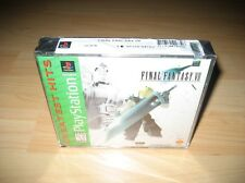 Final Fantasy VII 7 Playstation Brand New Sealed Game Squaresoft Mint