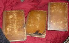 SET  1815 BIBLES FAMILY BIBLE ENGLISH FAMILY KING  AT LAVENHAM HALL THOS LORKING