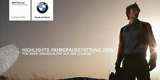 Prospekt BMW Fahrerausstattung Highlights  2009 Folder motorcycle clothes