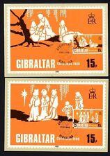 Gibraltar 413/4 Maximumkarten Weihnachten Heilige Drei Könige