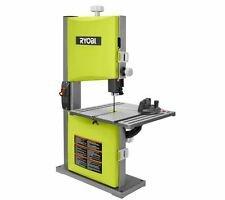 2.5 Amp 9 in. Band Saw in Green Bench Aluminum Quick-Release Tension Power Tool