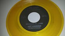 JEFF LAWRENCE Michigan My Home AIR-LOOM 3025 YELLOW COLORED VINYL 45 7""