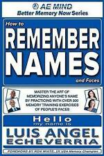 How Remember Names Faces Master Art Memorizing Anyone's Name by Practicing Over