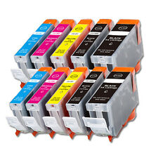 10 Pack New Ink Jet Bundle Set for Canon PGI-5 CLI-8 MP530 iP4200 iP4300 iP4500