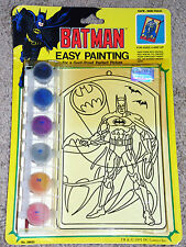 BATMAN EASY PAINTING KIT  1991 DC COMICS   Paint By Numbers  STILL SEALED!