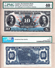 "PMG EF40 EPQ 1931 $10 The Dominion Bank. Large ""Rainbow Note"" (Now TD Can Trust)"