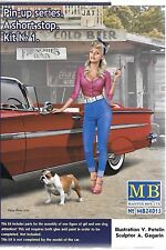 Master Box Pin Up Girl, Gal in 1/24 Kit No. 1 Compliment to Cars in 1/24  015 ST