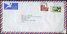 South Africa 1989 Commercial Air Mail Cover To England #C30375