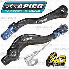 Apico Negro Azul Pedal De Freno Trasero & Gear Palanca Para Husaberg Te 250 2014 Motox