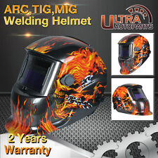 Solar Powered Auto Darkening Welding Mask Helmet welders ARC TIG MIG Grinding