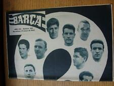 31/05/1962 Barcelona Magazine: No 340 - includes Real Madrids appearance in the