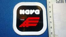 Adesivo da collezione NAVA Caschi per moto VINTAGE 80'S/90'S