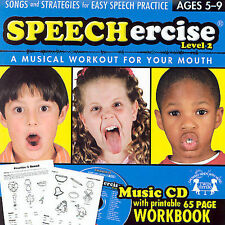 Speechercise Level 2: A Musical Workout for Your Mouth  ages 5-9  2005 by Twin S