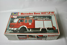 Revell Mercedes Benz 1017 LF16 Fire Engine Kit New Old Stock 1/24 Scale