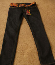 Black Crystal Jeans Womens Size 5 Waist 30 x  Inseam 31  New With Tags
