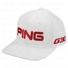 NEW Ping G30 Sensor Cool Tour Structured White/Red Fitted S/M Hat/Cap