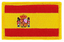 FLAG PATCH PATCHES Germany SPAIN SPANISH IRON ON COUNTRY EMBROIDERED SMALL