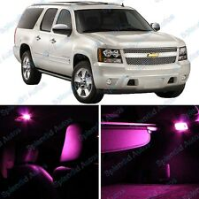 Pink Interior LED Package For Chevrolet Suburban  2007 and Up (7 Pieces) #848