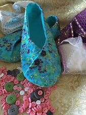 Kimono chaussure motif & tissu kit couture & détaillée making guide-femmes tailles
