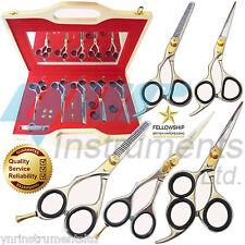 Conjunto de peluquería tijeras de peluquería para zurdos Profesional mano izquierda-YNR - 01612119826