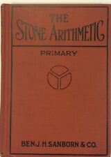 Vintage 1931 Textbook The Stone Arithmetic Primary