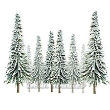 "JTT Scenery Products Snow Spruce Tree HO-Scale 4""-6"" Super Scenic, 24/pk 92007"